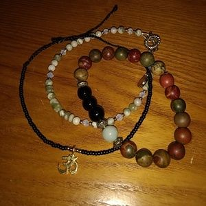 Jewelry - Yoga bead bracelet set